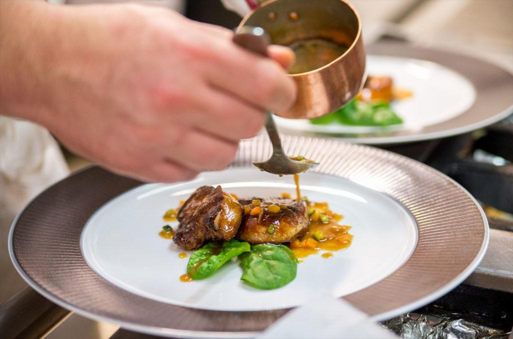Restaurant Le Tastevin - Foie Gras Poelé