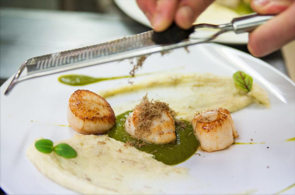 Restaurant Le Tastevin - Saint Jacques Truffe
